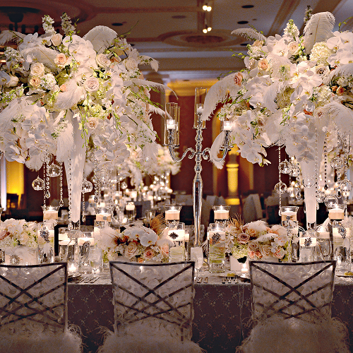 New Orleans Wedding Reception in Waldorf Astoria Ballroom