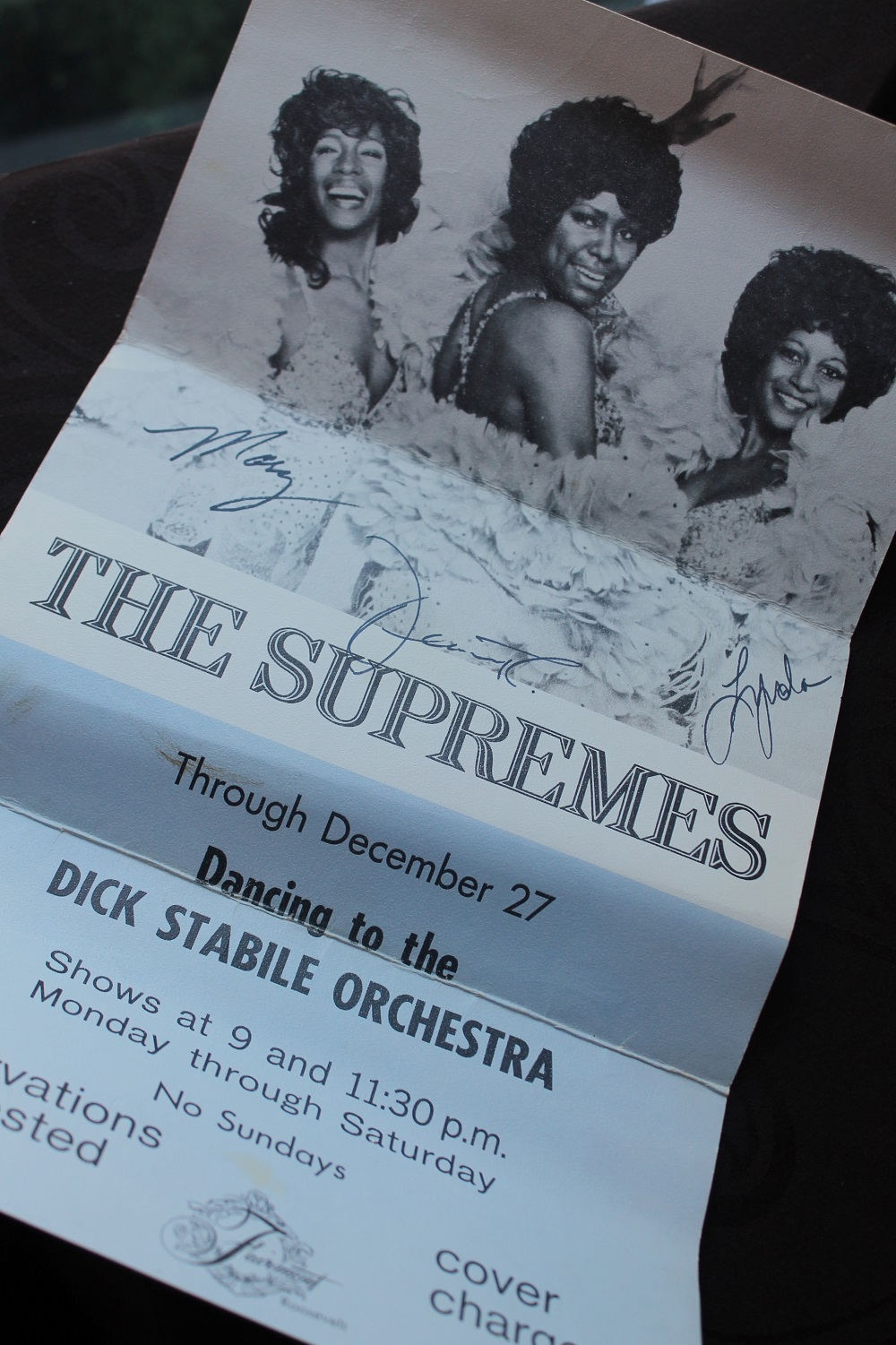 When The Supremes Played The Blue Room