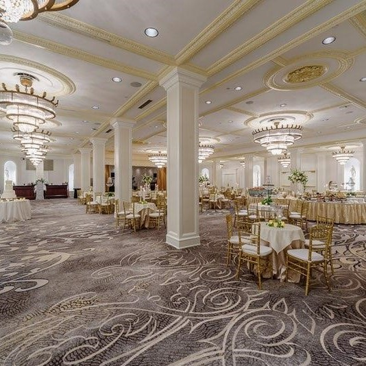 Wedding Reception in one of The Roosevelt's Luxurious Wedding Venues