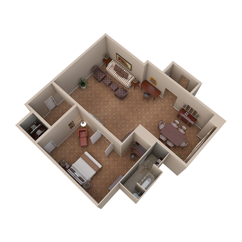 Waldorf Suite - View 2