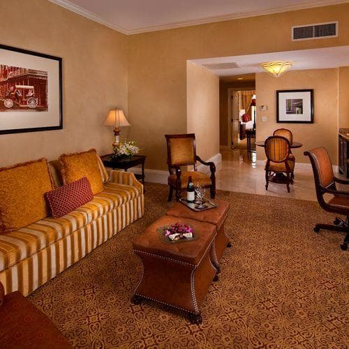 Luxury Suite interior