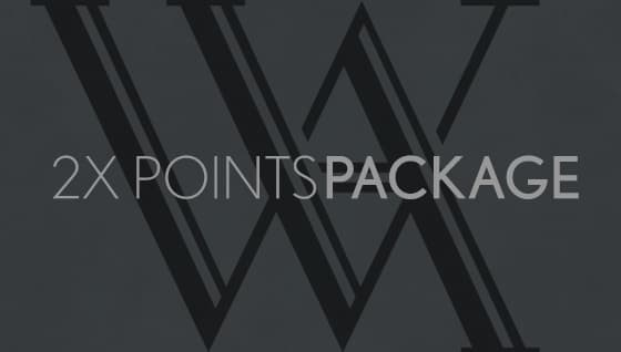 2x Points Package
