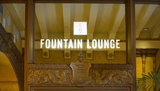 Holidays at the Fountain Lounge