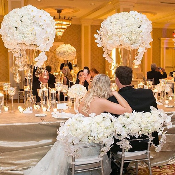 Wedding Reception in Waldorf Astoria Ballroom