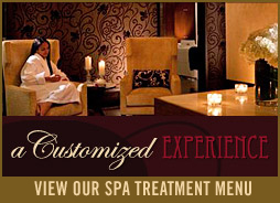Spa Treatment Menu